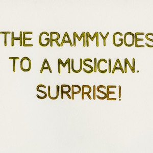 """Grammy Surprise"" © Ben Gancsos Projects"