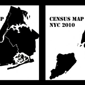 """NYC Census Map""  ©Eric Enright"