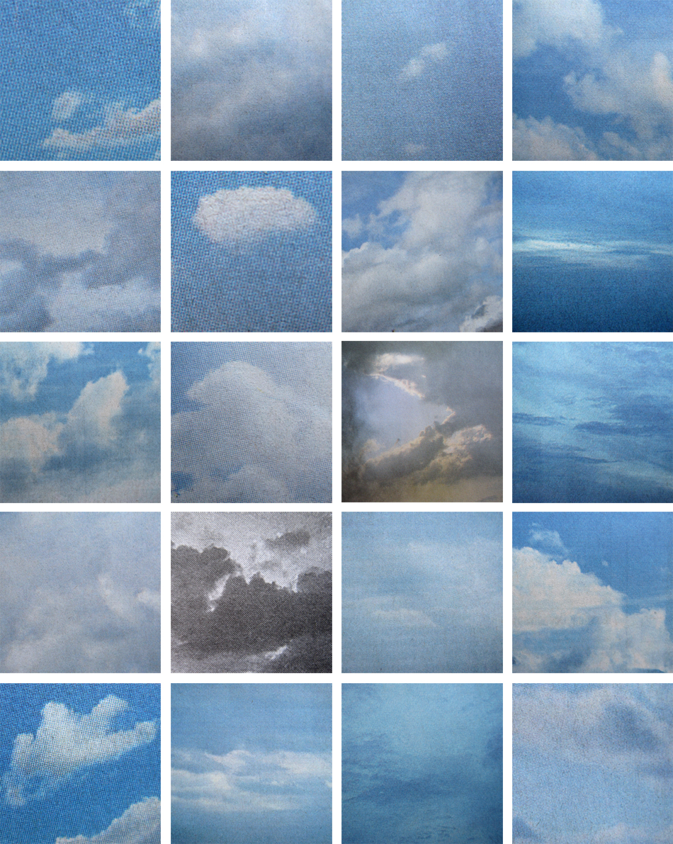Clouds (To Sol Lewitt), Ney York Times, May 29, 2011