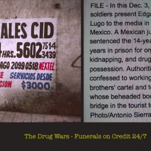 The Drug Wars, Funerals 24/7 ©Sylvia de Swaan