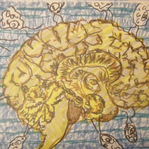 Stephanie Tichenor. 08.18.11. brains! brains!