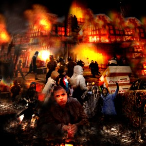 London Riots Continue