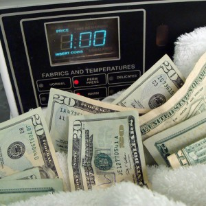 Money Laundering copyright Anne Dushanko-Dobek  Dec. 2011